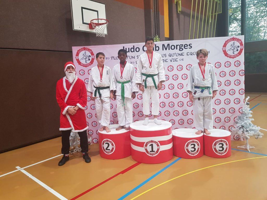 judo champel podium 2 tournoi de morges