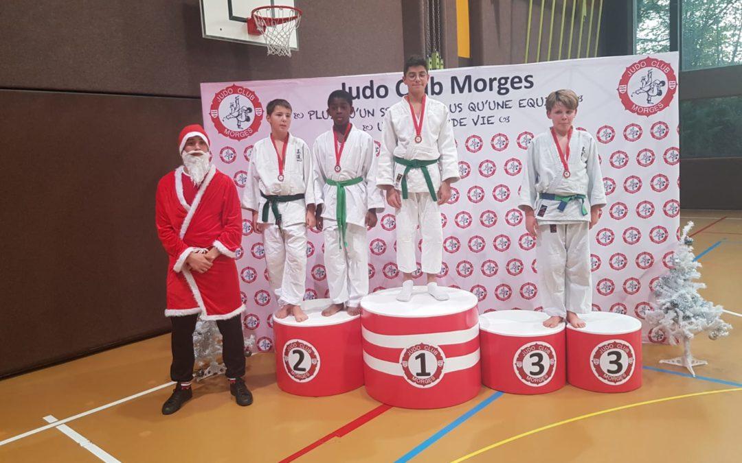 judo champel podium tournoi de morges