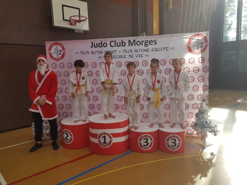 judo champel podium 1 tournoi de morges